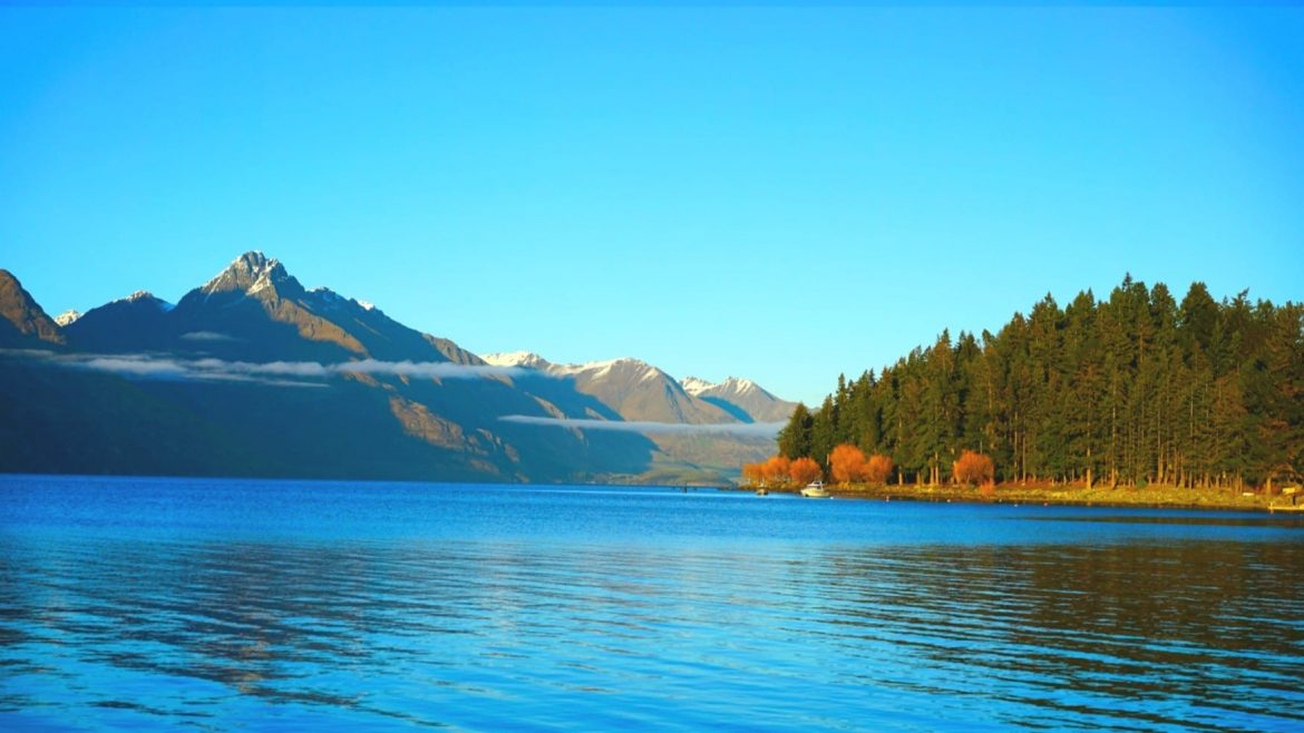 Beautiful Landscape Of Lake Wakatipu Queenstown New Zealand Queenstown City South Island Asia Vacation Group 1