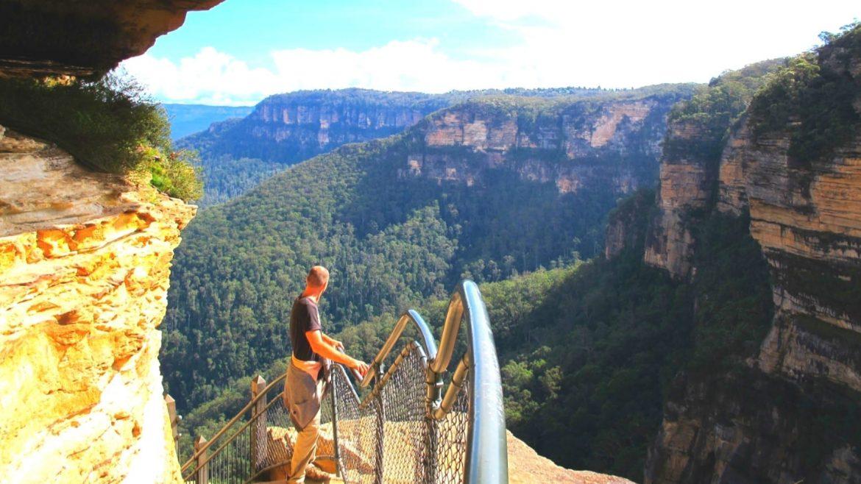 Blue Mountains National Park NSW Australia Asia Vacation Group 1