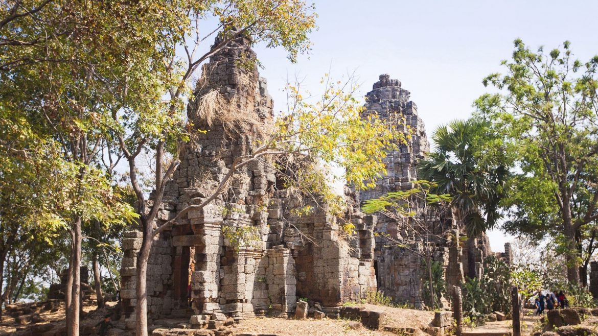 Phnom Banan, Battambang is included in Cambodia tours offered by Asia Vacation Group.