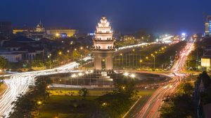 Independence Monument is included in Cambodia tours offered by Asia Vacation Group.