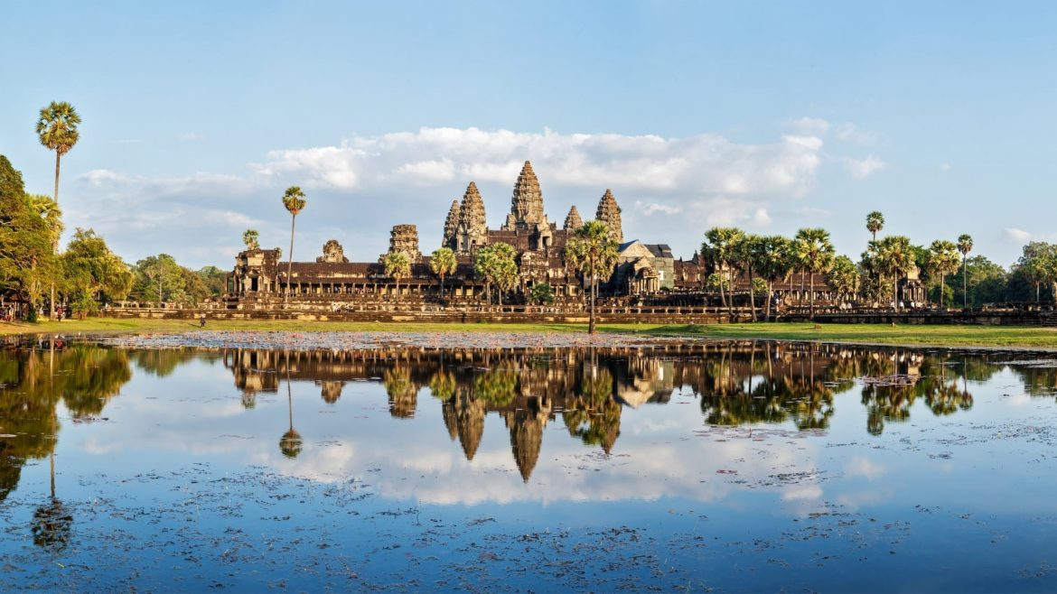 Angkor Wat is included in Cambodia tours offered by Asia Vacation Group.