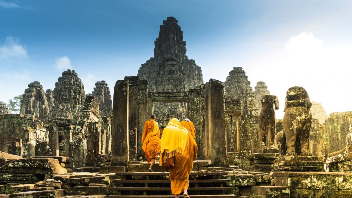 Bayon_temple-Siem_Reap-Cambodia is included in Cambodia tours offered by Asia Vacation Group.