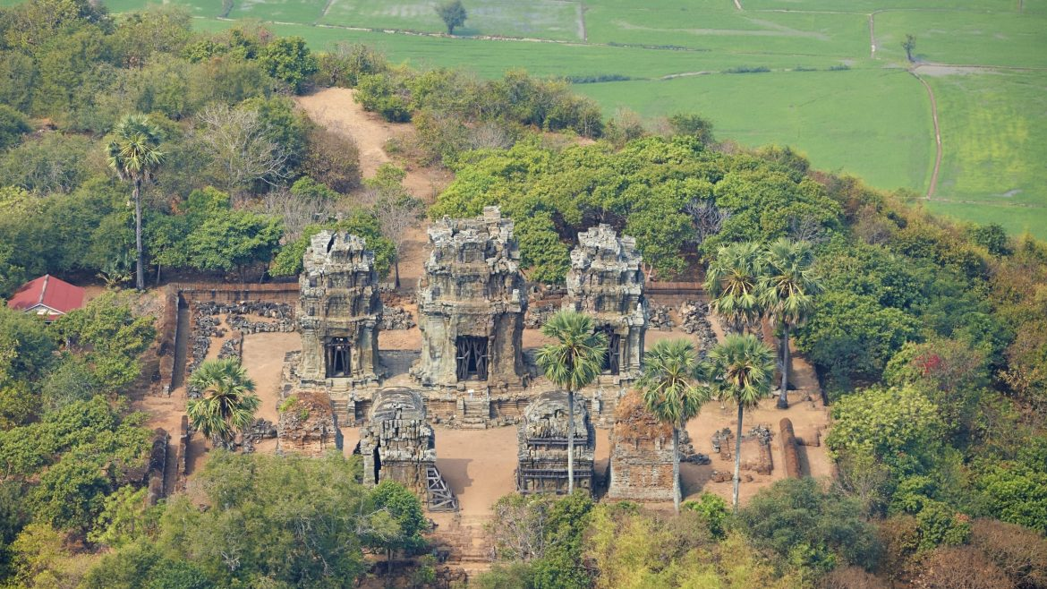 Phnom Krom, Siem Reap, Cambodia is included in Cambodia tours offered by Asia Vacation Group.