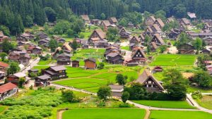 Shirakawago Village in Kanazawa Japan, included in tours offered by Asia Vacation Group