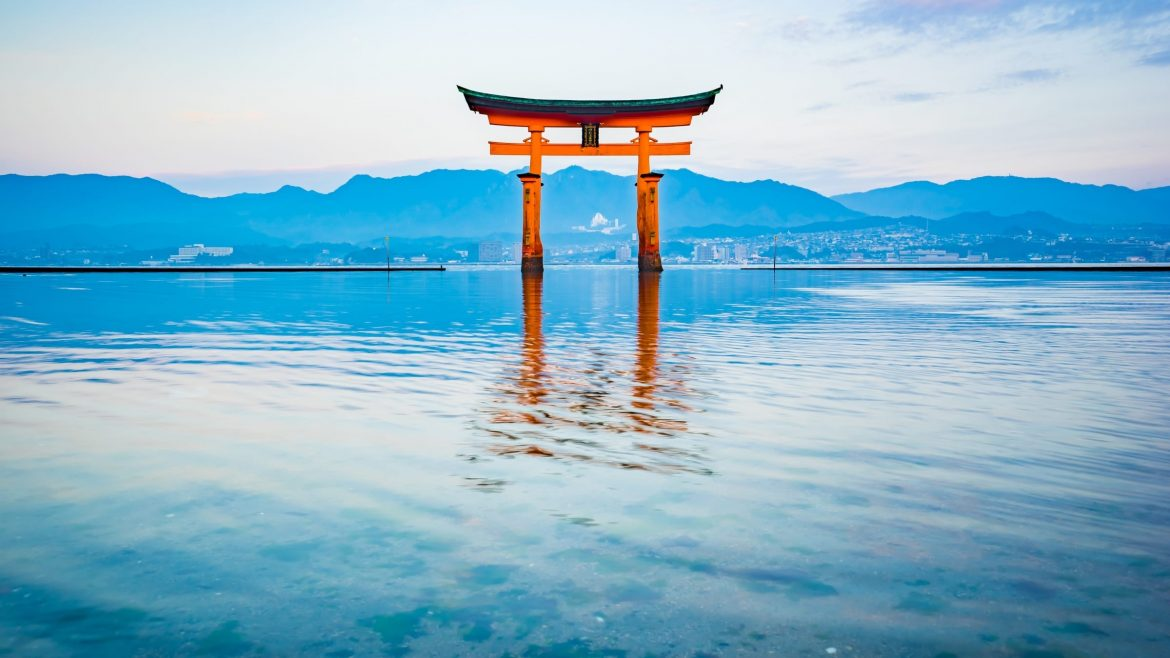 Itsukushima Shrine is included in Japan tours offered by Asia Vacation Group.