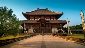 Todaji Temple in Nara, Japan, included tours offered by Asia Vacation Group