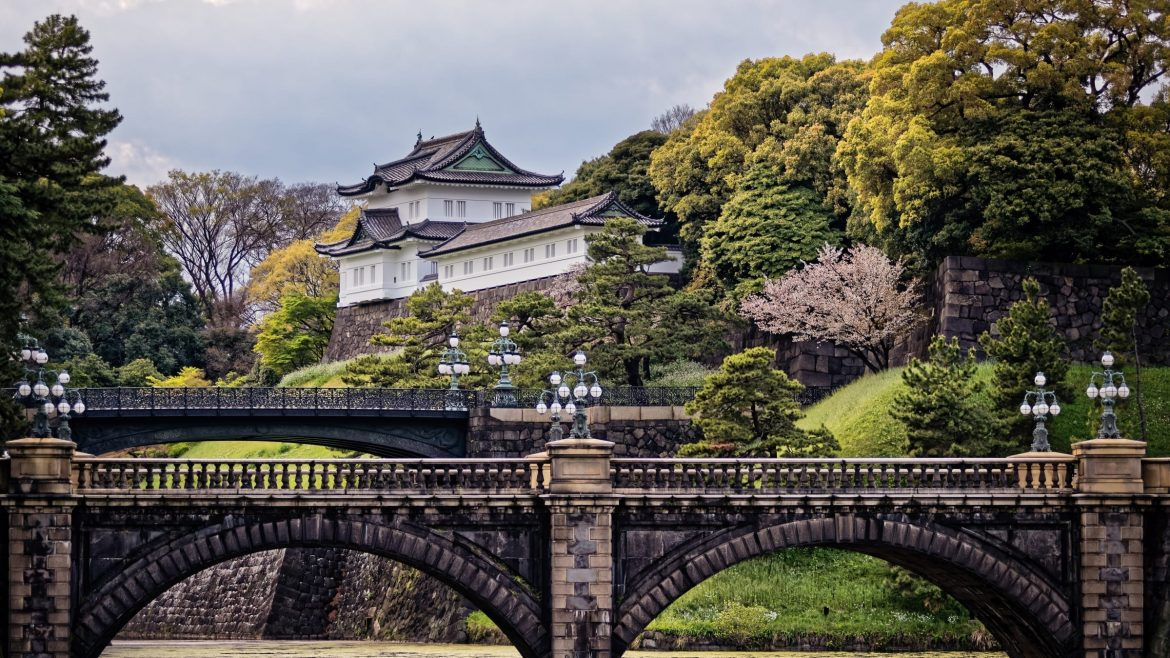 Imperial palace is included in Japan tours offered by Asia Vacation Group.