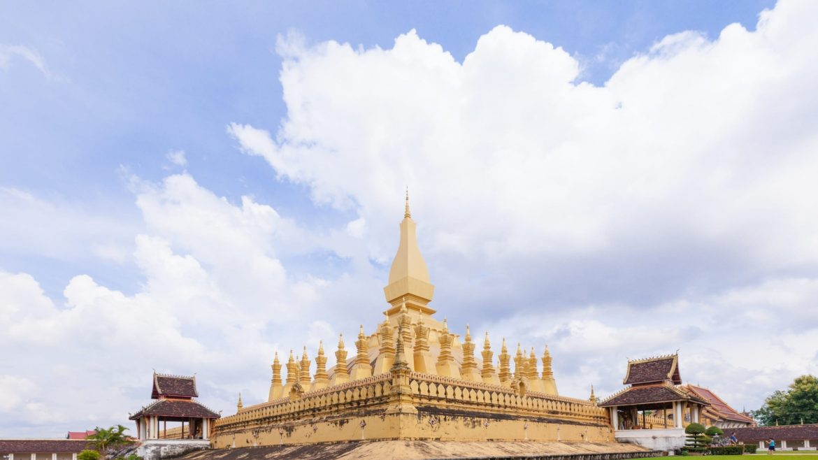 That Luang Vientiane is included in Laos tours offered by Asia Vacation Group.