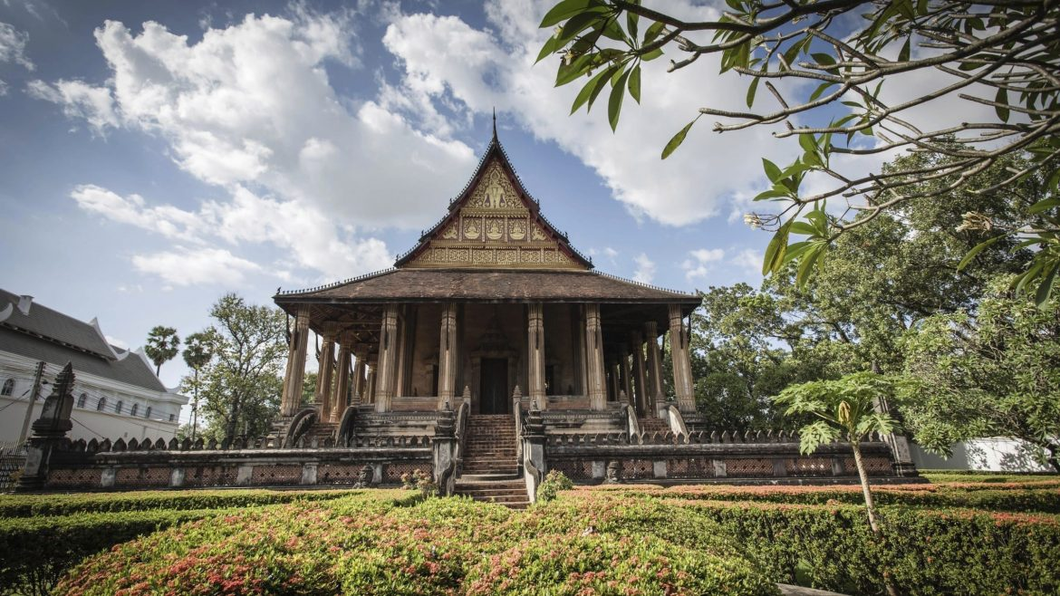 Haw Phra Kaew, Vientiane is included in Laos tours offered by Asia Vacation Group.