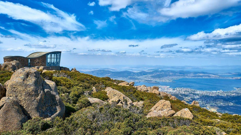 Mount Wellington In Tasmania