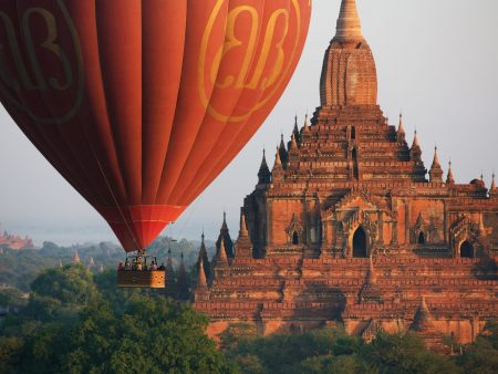 Bagan Pagoda is included in Myanmar tours offered by Asia Vacation Group.