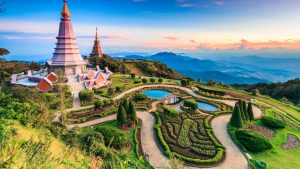 Chiang Mai Aerial, included in tours offered by Asia Vacation Group