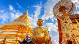 Chiang Mai Wat Phra That Doi Suthep, included in tours offered by Asia Vacation Group