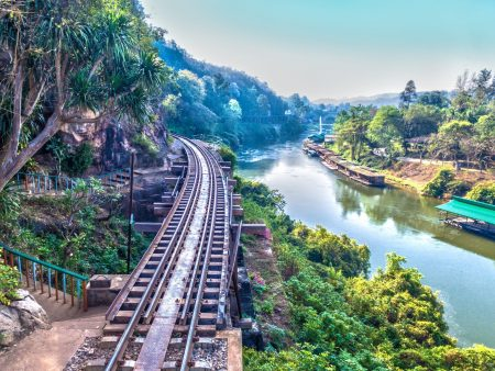 Death Railway Bridge River Kwai, Thailand, included in tours offered by Asia Vacation Group