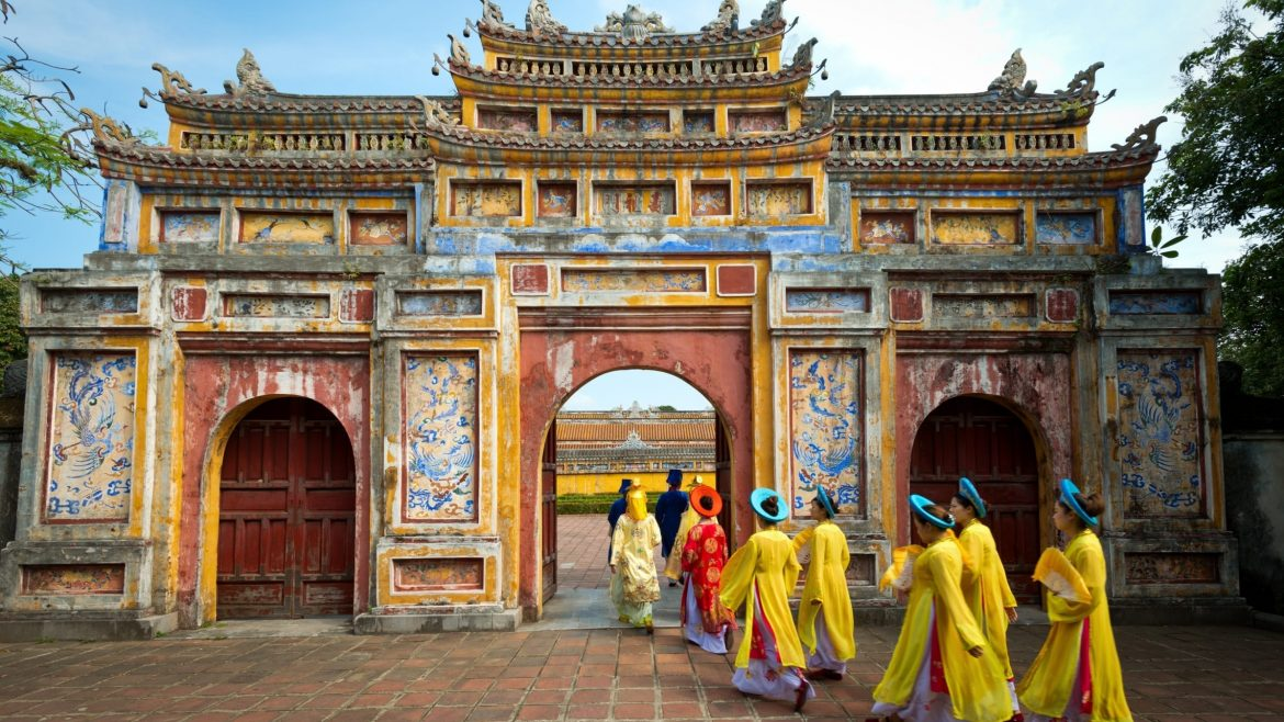 Hue Imperial city, Vietnam, included in tours offered by Asia Vacation Group