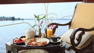 Cabin Scene of Jayavarman Cruise on Mekong River, Vietnam, offered in a tour with Asia Vacation Group