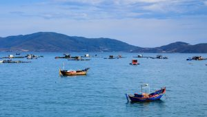 Nha Trang bay, Vietnam, included in tours offered by Asia Vacation Group