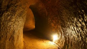 Cu Chi tunnels, Sai Gon, Vietnam, included in tours offered by Asia Vacation Group