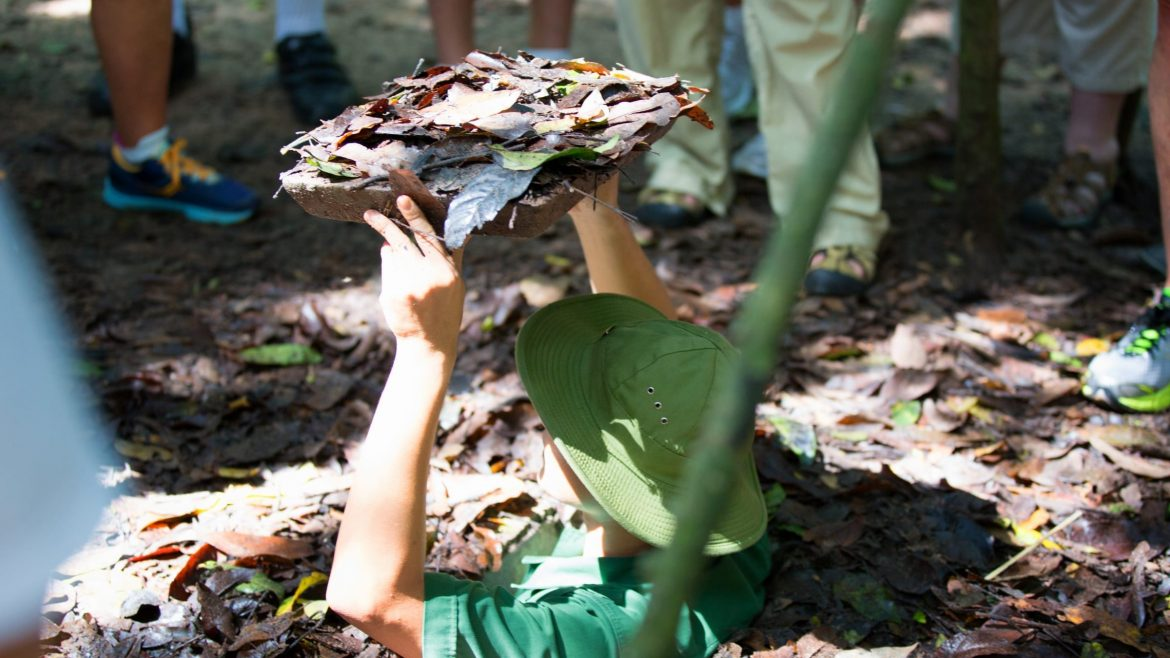 Cu Chi Tunnels, the famous historical place in Vietnam-US War, included in tours offered by Asia Vacation Group