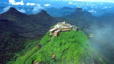 Climbing The Adam's Peak should be on your bucket list when travelling Sri Lanka!