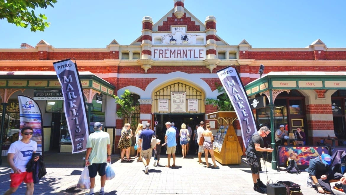 The Landmark Fremantle Markets Is A Public Market Selling Food And Fashion Located Near Perth